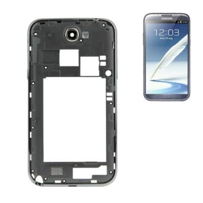Frame Cornice Posteriore Per Galaxy Note Ii - N7100 Telaio Nero