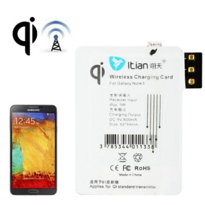 Récepteur de charge sans fil pour Samsung Note III standard Qi
