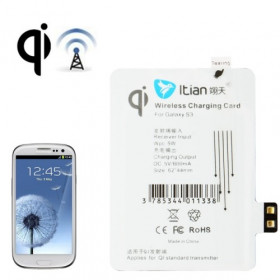 Receptor de carga inalámbrico para Samsung Galaxy S3 i9300 Qi estándar