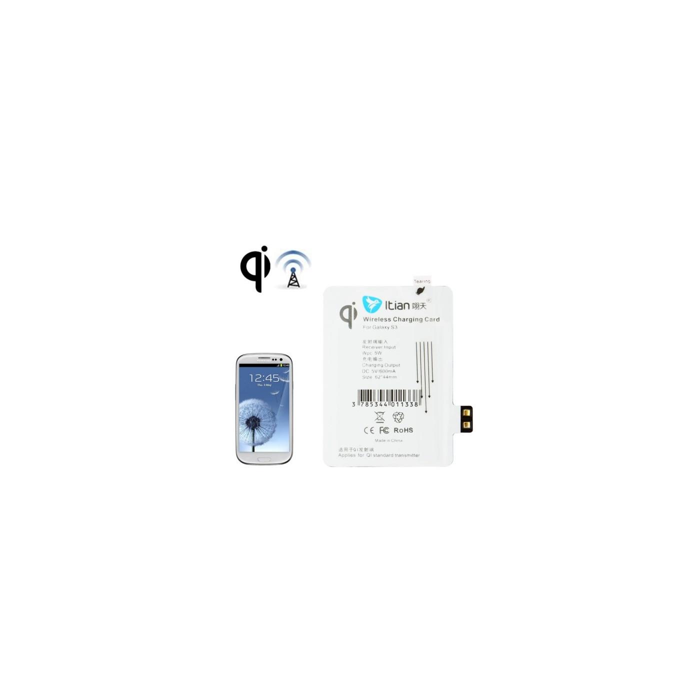 Ricevitore carica wireless per Samsung Galaxy S3 i9300 standard Qi