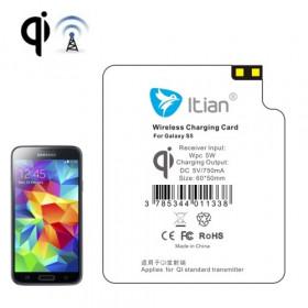 Receptor de carga inalámbrico para Samsung Galaxy S5 G900 estándar Qi