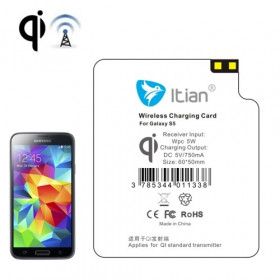 Wireless Charging Receiver for Samsung Galaxy S5 G900 standard Qi