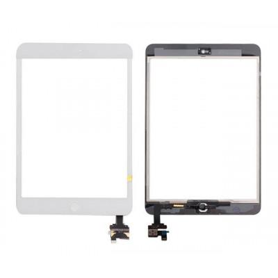 Touchscreen für Apple Ipad Mini - Mini 2 Wifi 3g weißen Bildschirm Glas + Aufkleber