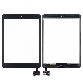 Touch screen per apple ipad mini - mini 2 nero wifi 3g vetro schermo + adesivo