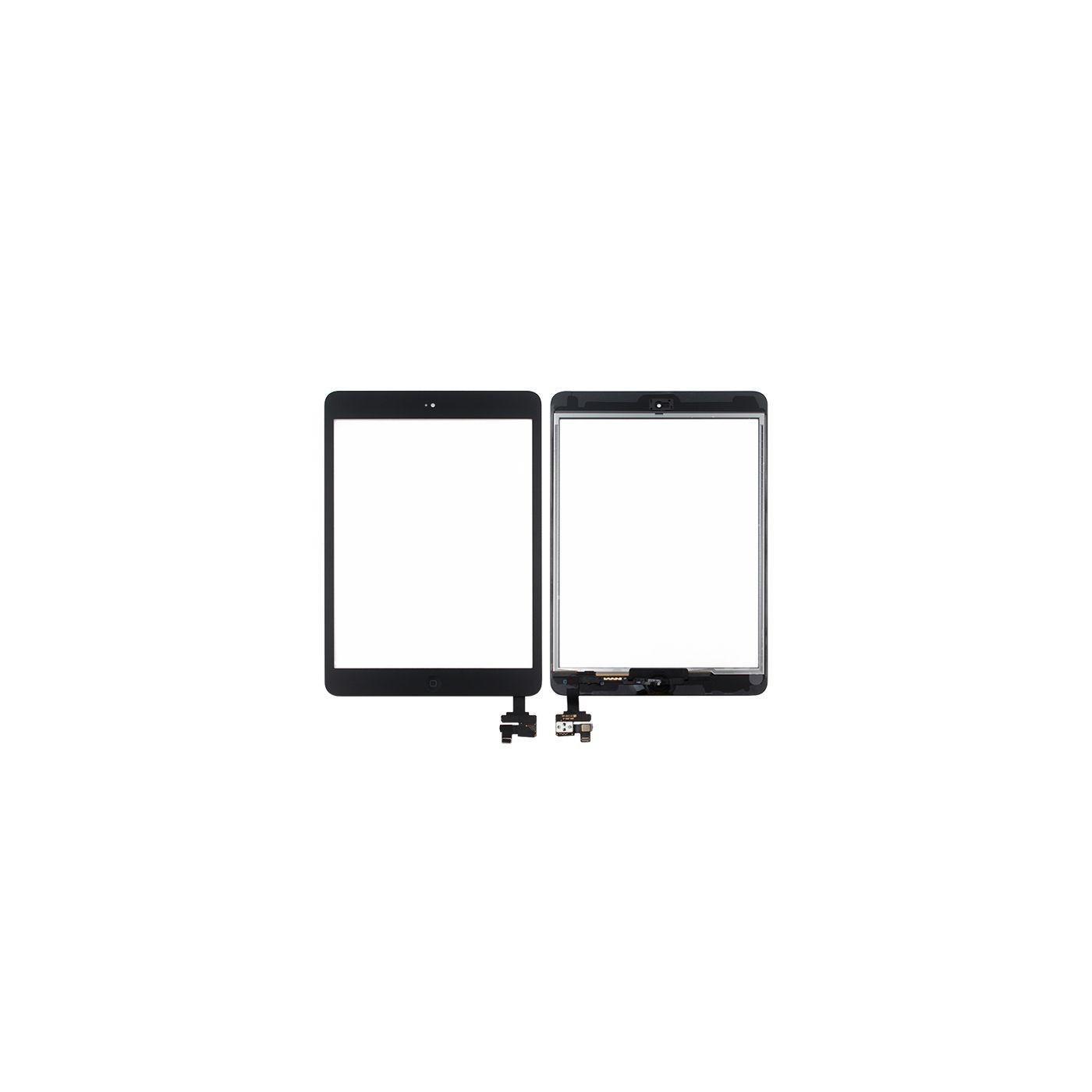 Écran tactile pour apple ipad mini - mini 2 écran wifi noir en verre 3g + autocollant