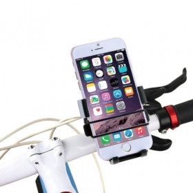 Soporte para teléfono inteligente de hasta 5.5 pulgadas para montar en bicicleta con manillar