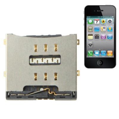 Connettore Sim Card Per Iphone 4 - 4S Lettore Sim Reader Contact