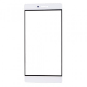 Slide the front for Huawei P8 white glass touch screen
