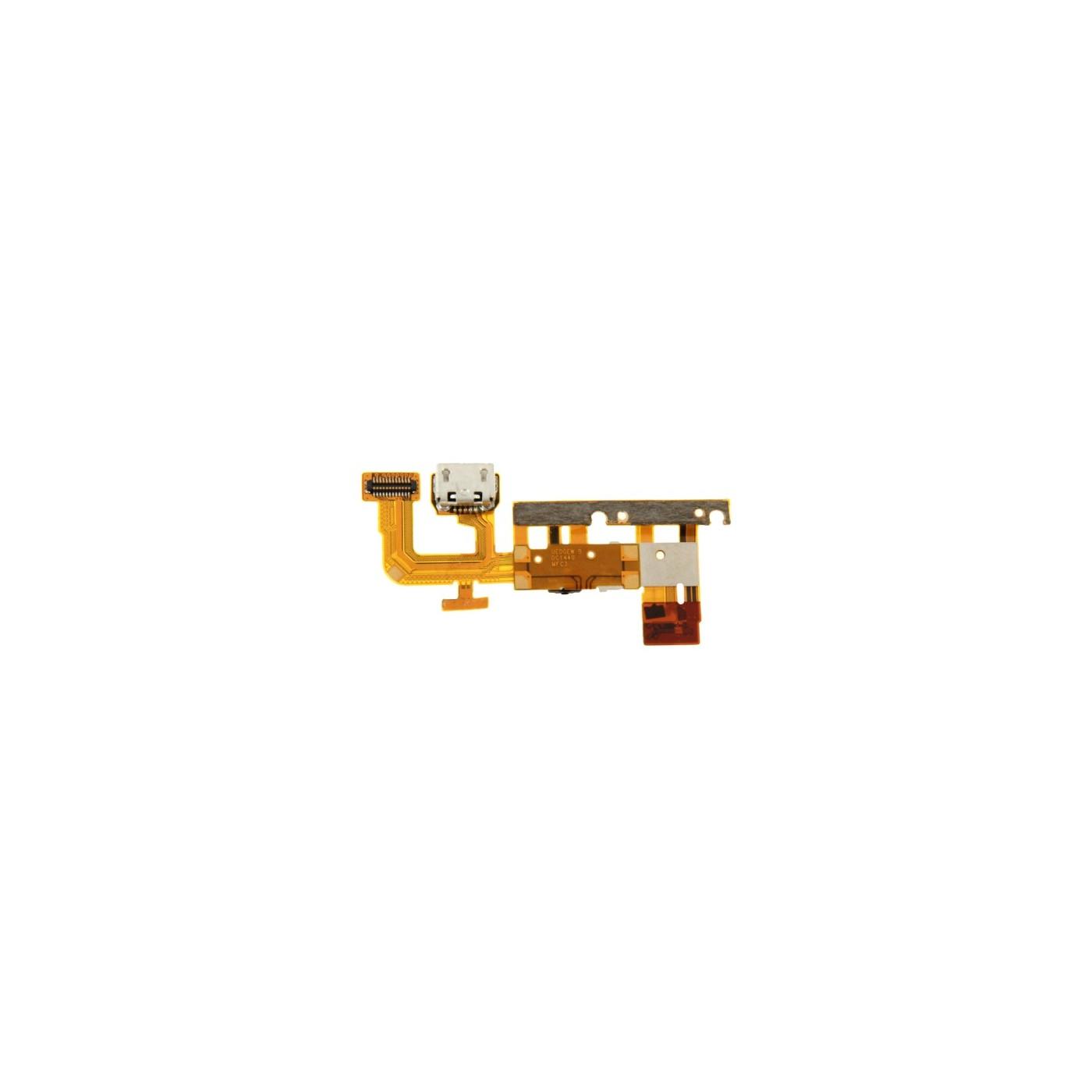 Conector de carga plana y flexible para datos de carga del muelle Huawei Ascend P6