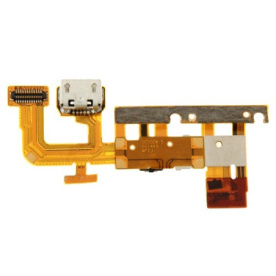 Flat flex charging connector for Huawei Ascend P6 data loading dock