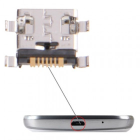 Charging connector for Galaxy Trend Duos S7562 dock loads data