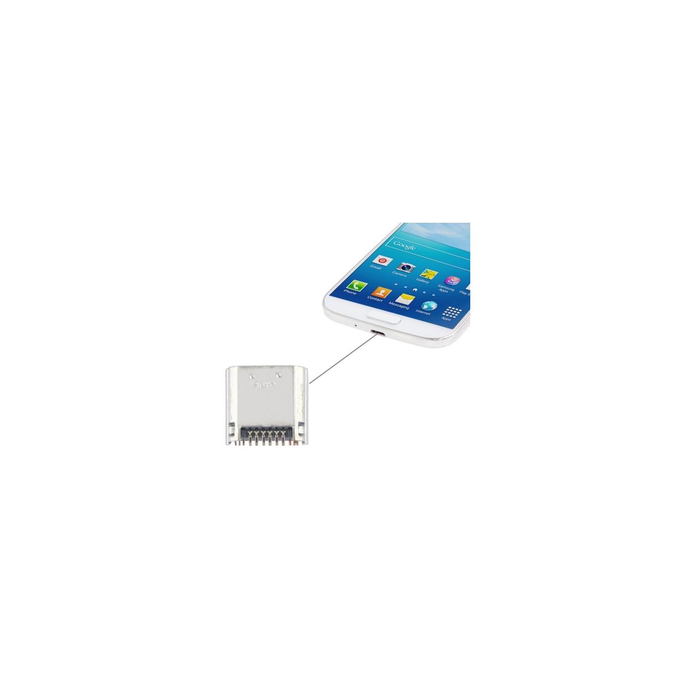 Conector de carga para los datos de carga del muelle Galaxy Mega 6.3 i9200