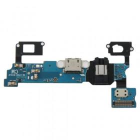 Conector de carga plana y flexible para datos de la base de carga Galaxy A7 A7000