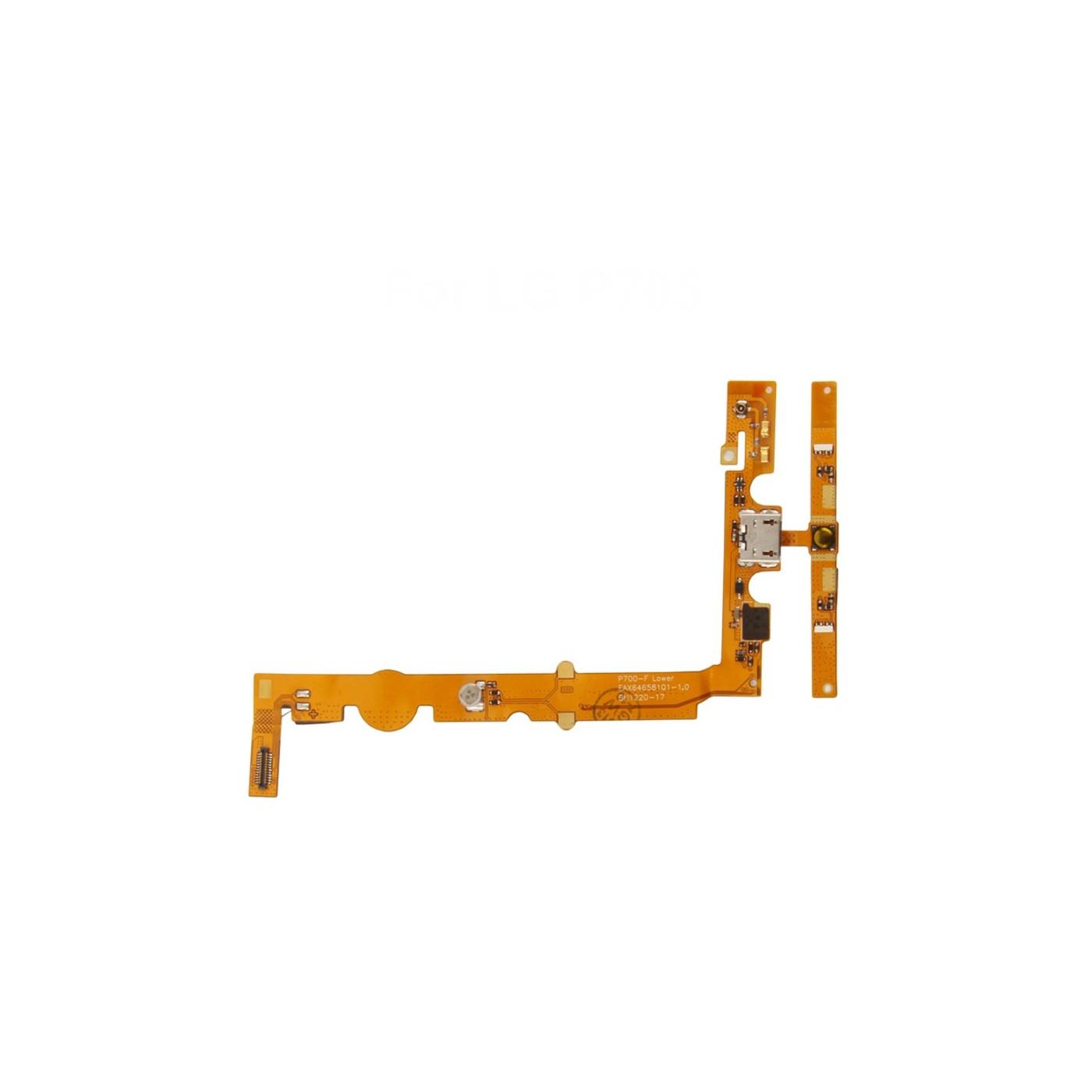 Flat Flex Ladestecker für LG Optimus L7 - P700 Ladestation