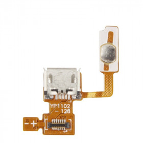 Flat flex charging connector for LG Optimus P970 charging dock