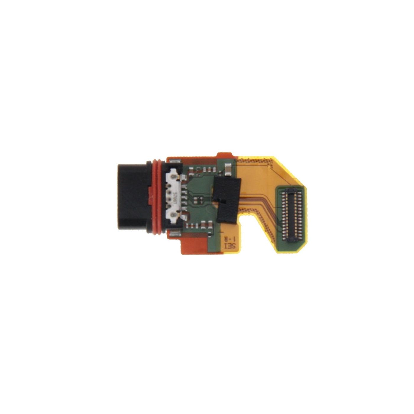Conector de carga plana y flexible para base de carga Sony Xperia Z5