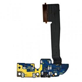 Conector de carga plana y flexible para toma de auriculares con puerto de carga HTC One M8