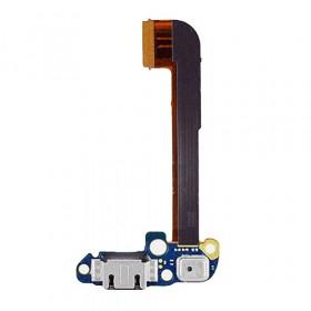 Conector de carga plana y flexible para la base de carga HTC One M7 801