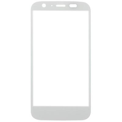 Motorola Moto G XT1032 écran tactile frontal en verre blanc