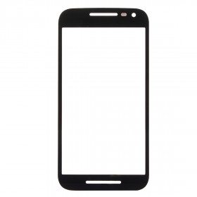 Glass slide Motorola Moto G 3rd gen black front touch screen