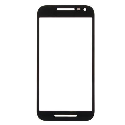 Glass slide Motorola Moto G 3rd gen black front touch screen