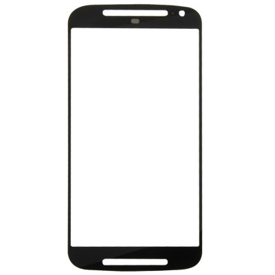 Glass slide Motorola Moto G 2nd Gen XT1063 black touch screen