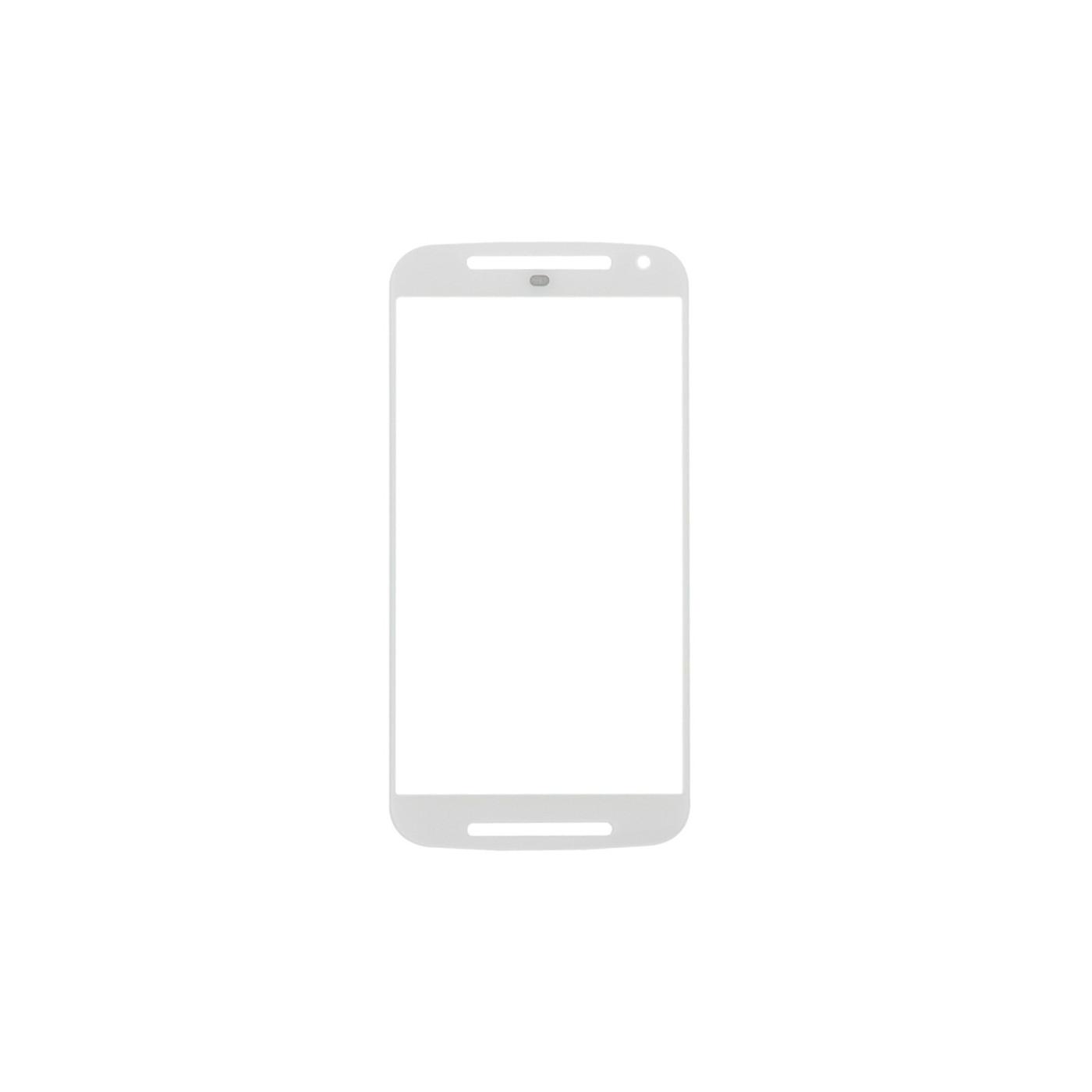 Vetro vetrino Motorola Moto G 2nd Gen XT1063 bianco schermo touch screen
