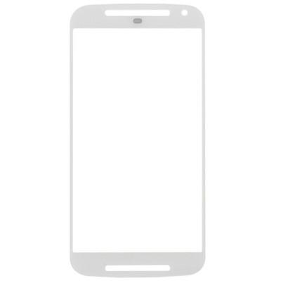 Vetro Touch Screen Per Motorola Moto G 2Nd Gen Xt1063 Bianco