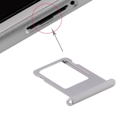 Porta Scheda Sim Per Iphone 6S Grey Carrello Slitta