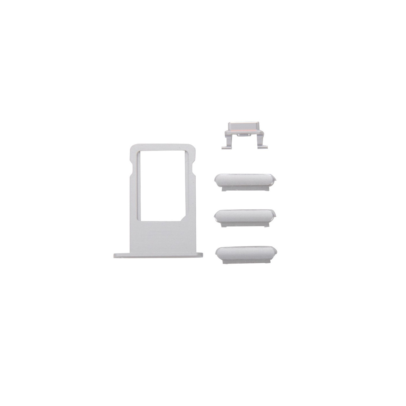 keys Kit 3 in 1 volume power iPhone 6s Plus silver + door sim card