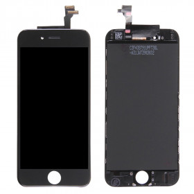 Touch screen display LCD per apple iphone 6 nero frame vetro retina