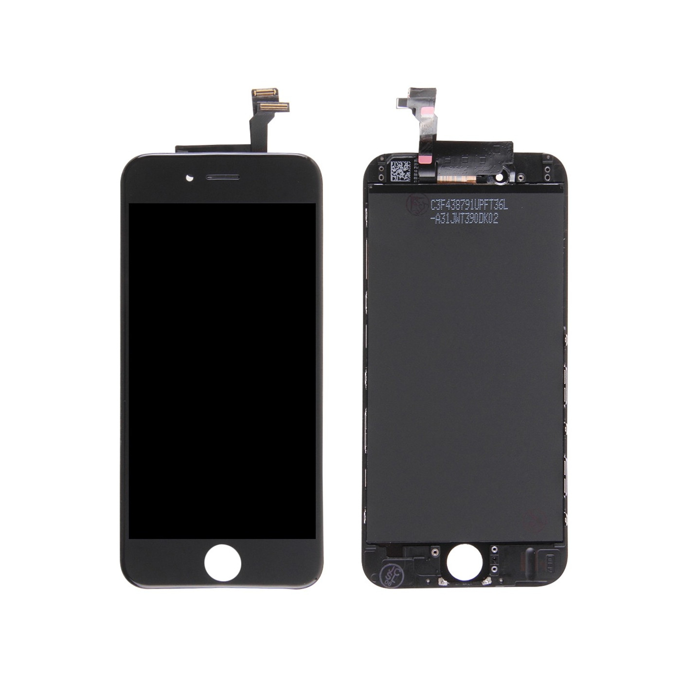 LCD touch screen display for apple iphone 6 black frame glass retina