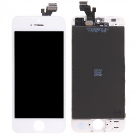 DISPLAY LCD VETRO TOUCH per Apple iPhone 5 BIANCO SCHERMO ORIGINALE TIANMA