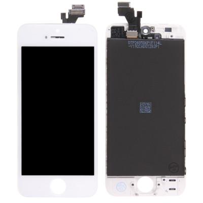 TOUCH GLASS LCD DISPLAY für Apple iPhone 5 WEISSER TIANMA ORIGINAL-BILDSCHIRM