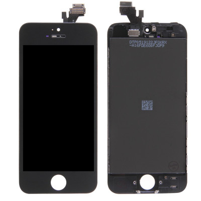 Display Lcd + Touch Screen + Frame Per Apple Iphone 5 Nero Originale Tianma