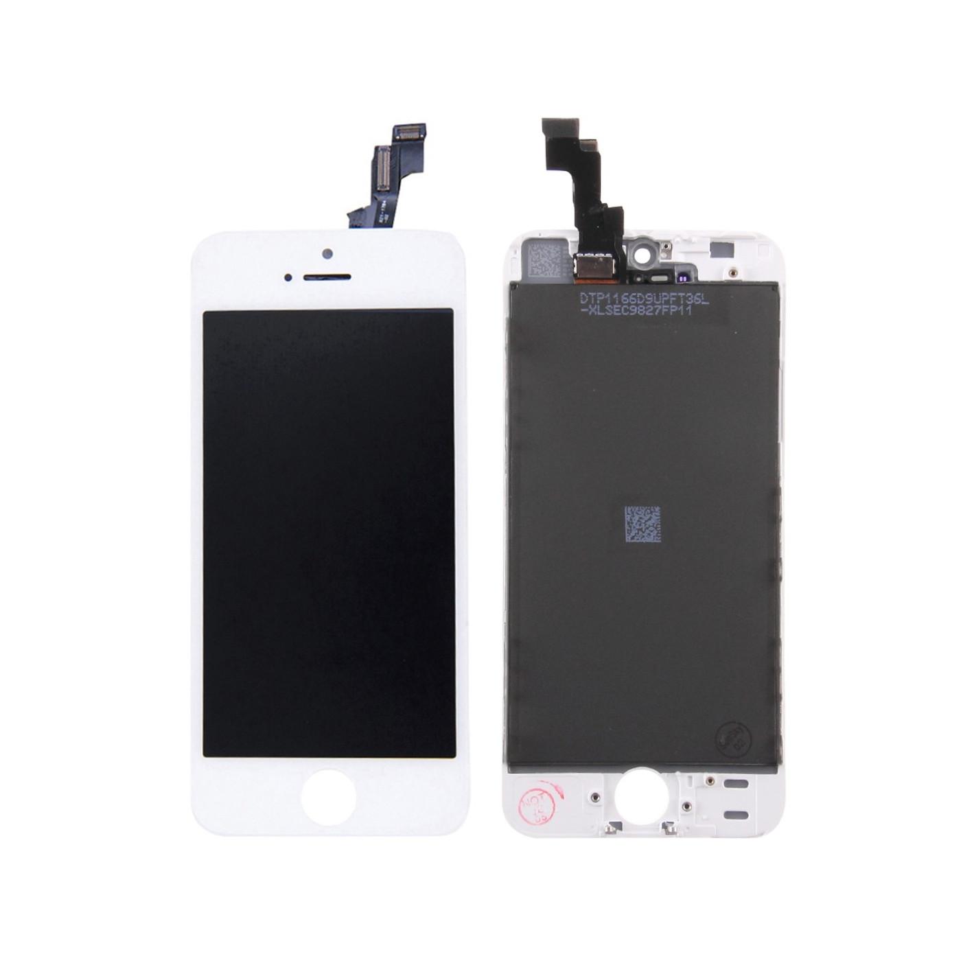 AFFICHEUR LCD TACTILE VERRE pour Apple iPhone 5S BLANC TIANMA ÉCRAN ORIGINAL