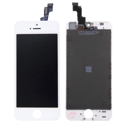 Pantalla Lcd + Pantalla Táctil Para Apple Iphone 5S Original Tianma Blanco