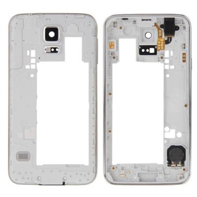 Frame-Back-Frame für Galaxy S5 - G900 mit Power-Button-Lautsprecheranschluss