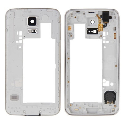 Frame Rear frame for Galaxy S5 - G900 with key speaker jack power