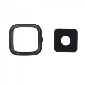Camera Lens Camera Lens cover + Frame Samsung Note 4 black N910