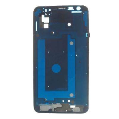 Frame Telaio Scocca Samsung Galaxy Note 3 Neo N7505 Silver Cornice Centrale