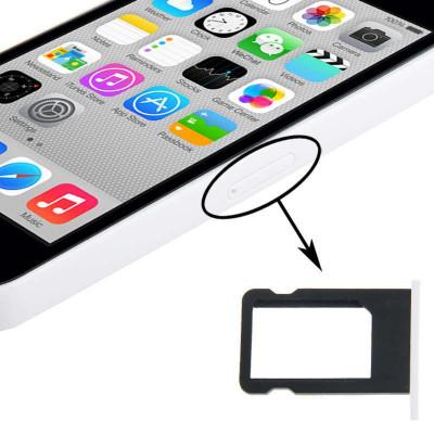 SIM Kartenhalter Apple iPhone 5C weiß Schlitten Slot Cart Fach Ersatz