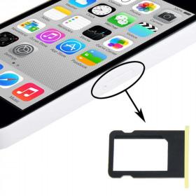 soporte de tarjeta SIM apple iphone 5c ranuras amarillas slot reemplazo de bandeja de carro