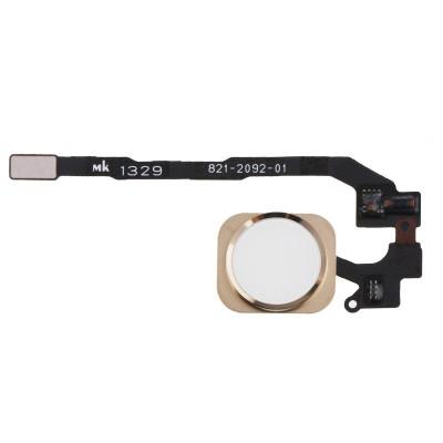 Cavo Flat Tasto Home Per Apple Iphone 5S Gold No Lettore Impronta Assemblato