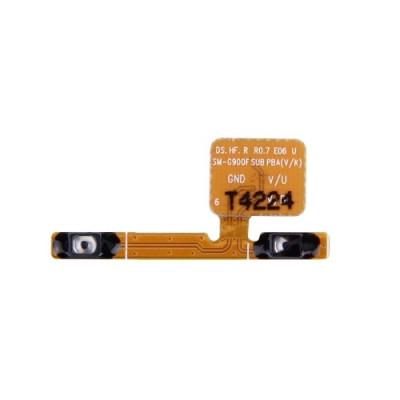 Seitliche Lautstärketasten für Samsung Galaxy S5 G900 Flat Flex