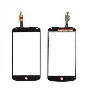 Vitre + écran tactile digital pour LG nexus 4 e960 slide en verre noir sans écran lcd