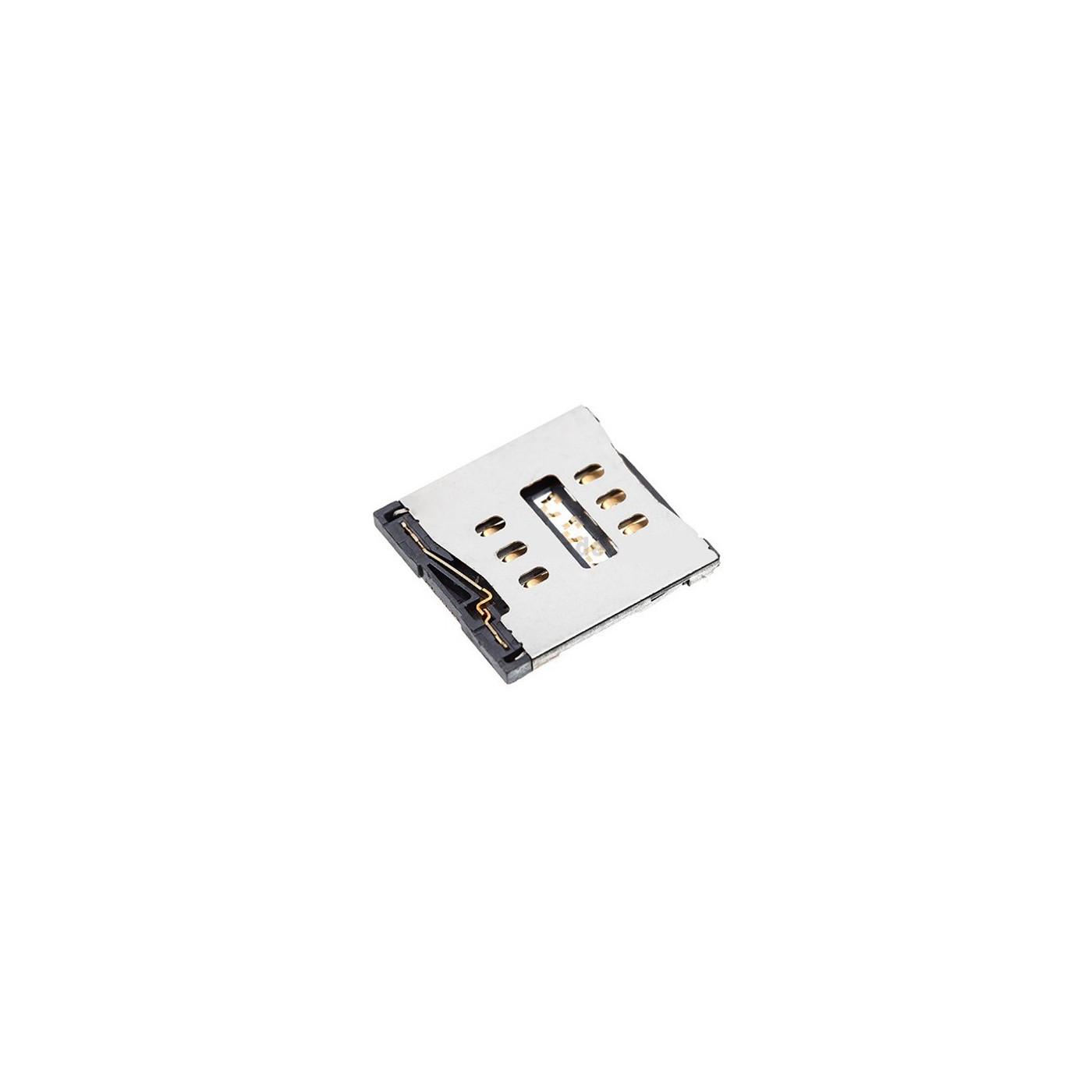Conector de tarjeta SIM para lector de tarjetas SIM 5G / 5S / 5C Lector de contactos