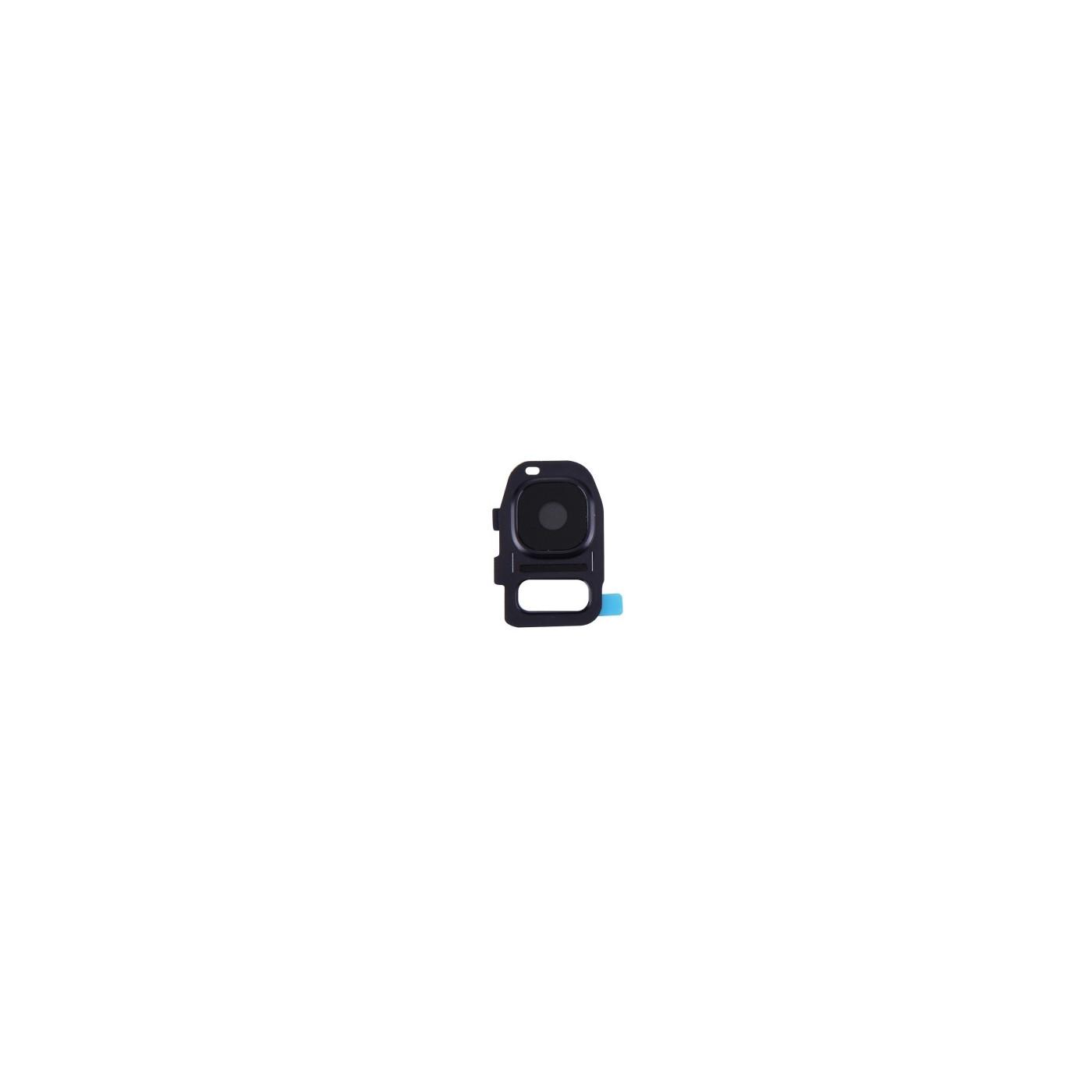 Lente vetrino fotocamera Camera Frame cornice Nero Samsung Galaxy S7 G930F