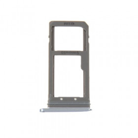 Porta tarjetas SIM Tarjeta Micro SD Azul Oscuro para Galaxy S7 Edge / G935F