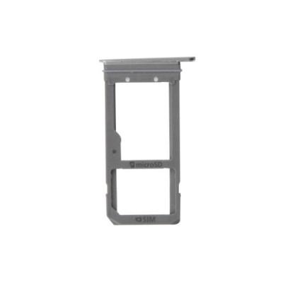 Porta Sim E Scheda Micro Sd Grey Per Samsung Galaxy S7 Edge / G935F